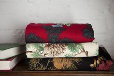 Pinecone fabric whispering pines