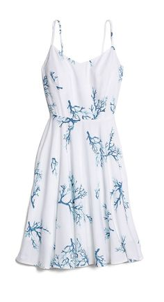 You can never own too many sundresses. With a cardi or blazer, this waist-defining cami dress look super polished and only take 5 seconds to pull on. This particular frock comes in 12 (!) other colors, if you're looking to switch things up. That should get you through summer.