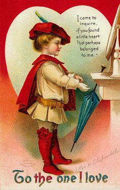 Image shared by Find images and videos about postcard and vintage valentine on We Heart It - the app to get lost in what you love. Valentine Cupid, Valentine Images, Vintage Valentine Cards, Vintage Holiday, Vintage Cards, Vintage Postcards, Vintage Images, Valentines For Boys, Valentine Day Love