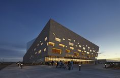 Gallery of Wagner Noël Performing Arts Center / Bora Architects + Rhotenberry Wellen Architects - 1