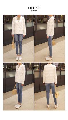 グラデーション風カラースリムジーンズ・全1色パンツ・ジーンズ 大人のレディースファッション通販 HIHOLLIハイホリ [トレンドをプラスした素敵な大人スタイル]