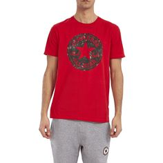 CONVERSE - Ανδρική μπλούζα Converse κόκκινη #joy #style #fashion