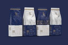 Speciality Luxury Coffee Brand and New Cafe Experience / World Brand & Packaging Design Society Food Packaging Design, Coffee Packaging, Coffee Branding, Packaging Design Inspiration, Brand Packaging, Branding Design, Luxury Cafe, Branding Digital, Coffee Logo