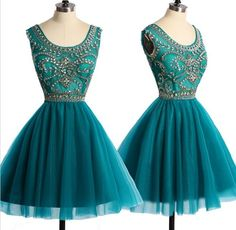 Blue Homecoming Dress,Straps Homecoming Dresses,Homecoming Gowns,Backless Party Dress,Short