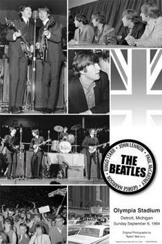 Olympia Stadium, Detroit, September  6th, 1964.
