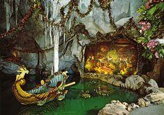 postcard - Linderhof, Blue Grotto