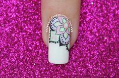 Diseño de uñas Mandala Pastel Pastel, Deco, Short Nails, Fingernail Designs, Mandalas, Pie, Deko, Dekoration, Decoration