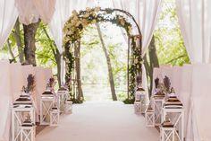 lavander wedding, ceremony, wedding decor, ceremony, церемония, свадьба, оформление свадьбы, флористика