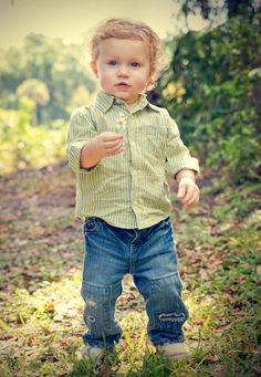 Toddler, Fall, Fashion- country toddler fashion  Damian would be GORGEOUS in this color!  I know, I know...no green ;)