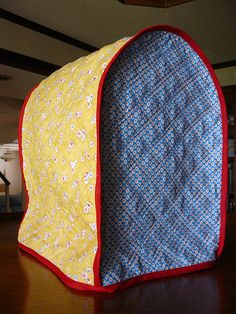 KitchenAid Mixer Cover Tutorial-will make one of these for my mixer