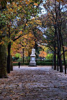 """Otoño en el Parque de """"El Retiro"""", Madrid"""