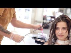 Как красивый цвет волос и правильный макияж меняют образ? Стилист Виктор...