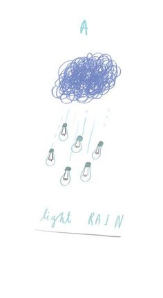 A Light Rain by Oliver Jeffers