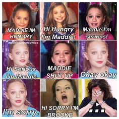 ha ha dance moms I like this show and it would be great if it didn't have all the drama in it
