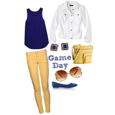 Game Day outfit