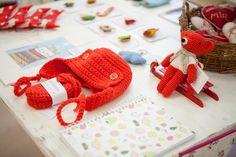 www.diebuntique.at Crochet Necklace, Red, Jewelry, Christmas, Jewlery, Crochet Collar, Bijoux, Schmuck, Jewerly