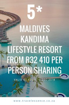 Maldives Kandima Lifestyle Resort From 410 per person sharing - Travel Essence Challenge The Status Quo, Group Of Friends, News Games, Hotels And Resorts, Maldives, Families, Restaurants, Spa, Relax