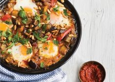 Spicy Eggplant and Egg Tagine | Vegetarian Times