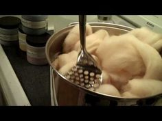 ▶ How to Kettle Dye Wool on a Stove - YouTube