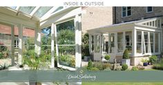 A classic lean-to conservatory, blending perfectly with the style of their home and garden. http://www.davidsalisbury.com/case-studies/conservatories/lean-conservatory-somerset
