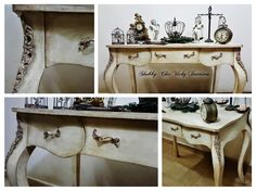 Restyling   Consolle Shabby Chic Vicky Interiors