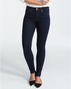 1f2e662659  148 NWT SPANX 5 POCKET SKINNY JEANS MIDNIGHT RINSE 27 DENIM FD5915 Shaping