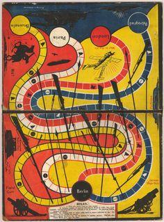 British print - game-board