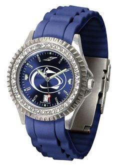 Penn State Nittany Lions Sparkle Watch With Color Band