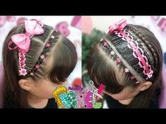 Peinado Infantil/ Casual Facil Y Rapido/ Peinados Rakel 41 Hair Express, Healthy Shopping, Braids For Kids, Cut My Hair, Loose Hairstyles, Cornrows, Braid Styles, Hair Dos, Most Beautiful Pictures