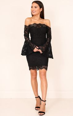 Black lace dress Black lace dress perfect for a social event fits tight on body Guess Dresses MiniLace dress Lacey, tight fitted mini dress. Short Strapless Prom Dresses, Sexy Formal Dresses, Black Lace Mini Dress, Lace Dress With Sleeves, Dress Lace, Pink Tutu Dress, African Lace Dresses, Wish Dresses, Special Occasion