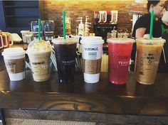 Grab Starbucks before & have them write bride, bridesmaid & maid of honor on everyone's cups