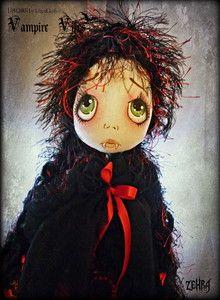Lilliput Loft Urchin ART Doll Ooak Vampire Vibes Zehra | eBay