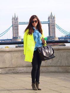 love the bright coat!