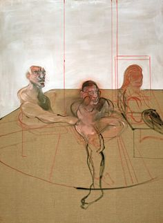 Francis Bacon - Untitled (Three Figures) (ca. 1981)