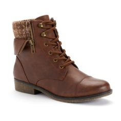 Mudd Women's Sweater-Cuff Ankle Boots