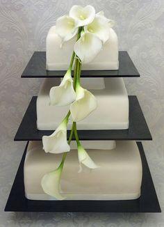 Calla Lily Wedding Cakes | White Calla Lily Wedding Cake | Flickr - Photo Sharing!: