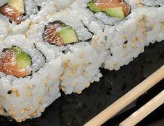 Uramaki sushi   Sushi Recepten
