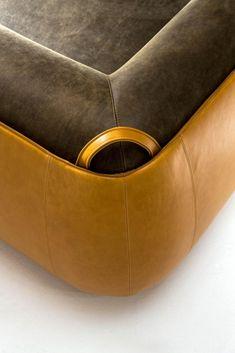 Meir - Customizable modern luxury sofa in leather Luxury Sofa, Luxury Furniture, Furniture Design, Made To Measure Furniture, Leather Skin, Room Interior Design, Upholstered Sofa, Sofa Design, Modern Luxury