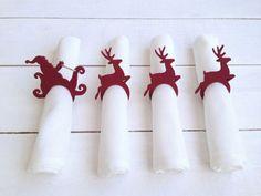 Porta servilletas navideños - Dale Detalles
