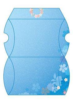 enchanted flowers pillow box schachteln geschenkkartons. Black Bedroom Furniture Sets. Home Design Ideas