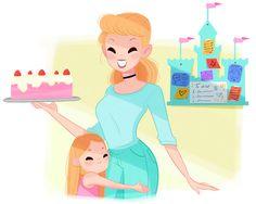 If Disney Princesses Were Moms - Part 2