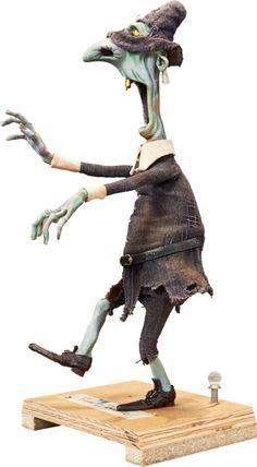 Animation Art:Maquette, ParaNorman Eben Hardwick Zombie Original Animation Puppet(LAIKA, 2012).... Image #4