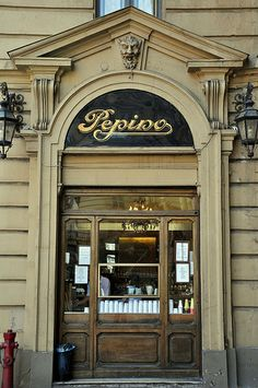 Ice cream in Turin?: Pepino in Turin Piedmont Region, Piedmont Italy, Turin Italy, Shop Facade, Italy Street, Pubs And Restaurants, Baroque Architecture, Places In Italy, Italy Tours