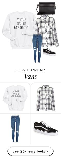 """Bez tytułu #3461"" by fotd97 on Polyvore featuring Rails, Vans, Alexander Wang, women's clothing, women's fashion, women, female, woman, misses and juniors"