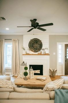 Fixer Upper, Season 2 Episode 2 - color: Mindful Gray, Sherwin Williams
