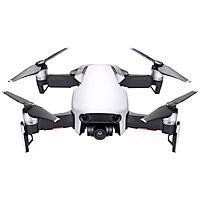 DJI Mavic Air drone (arktisk hvit) - DJI Mavic Air kommer i et sammenbrettbart design som representere perfekt sammenslåing av form og funksjon. Den har en 3-akses gimbal og 4K kamera, og når en hastighet på 68,4 km/t. Den tilbyr også 21 minutters flytid