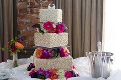 Square Wedding Cake Square Wedding Cakes, Pastry Shop, Specialty Cakes, Celebration Cakes, Becca, Birthday Cake, Desserts, Photography, Shower Cakes