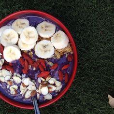 Blueberry Protein Acai Bowl
