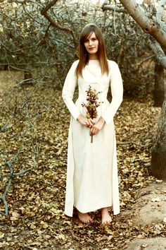 Gorgeous Boho 1960s Wedding Gown by KittenPawsVintage on Etsy,