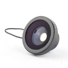 Lente Olho de Peixe 180 Graus para iPhone, iPad e Outros Celulares – BRL R$ 36,27